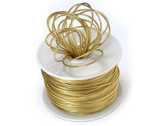 Ribbon Shiny Rope Cord-Gold