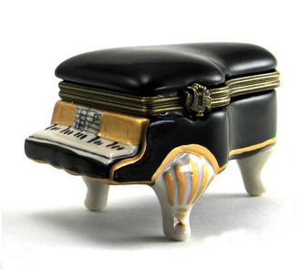 Piano Trinket Boxes