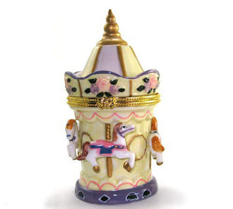 Carousel Trinket Box