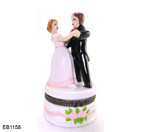 Trinket Box Bride and Groom