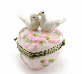 Two Doves-Trinket Box