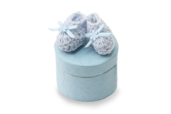 Baby Shower Favor Box Blue