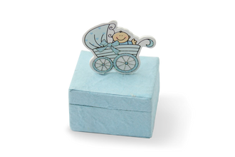 Mulberry Baby Shower Boxes Blue