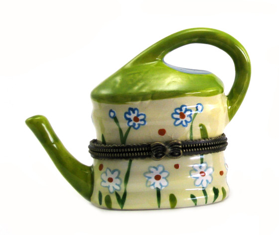 Ceramic Teapot Trinket Box