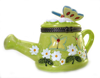 Butterfly Watering Pot Trinket Box