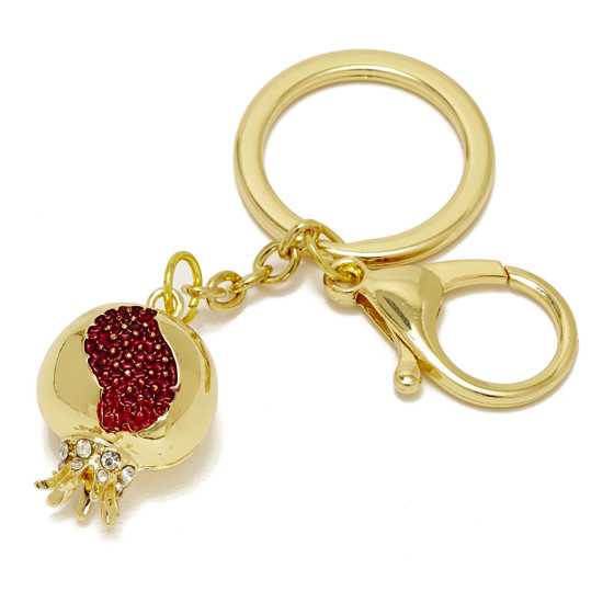 Pomegranate Key Chain