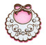 Baby Apron Embellishment Pink