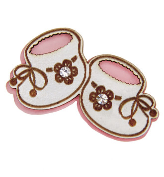 Baby Booties-Pink