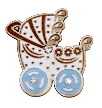 Baby Carriage-Blue