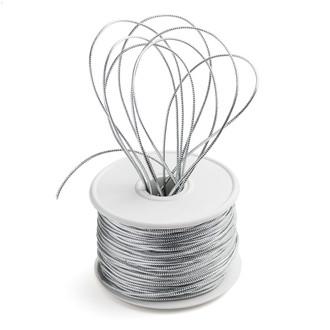 Metallic Silver Cord-100Y