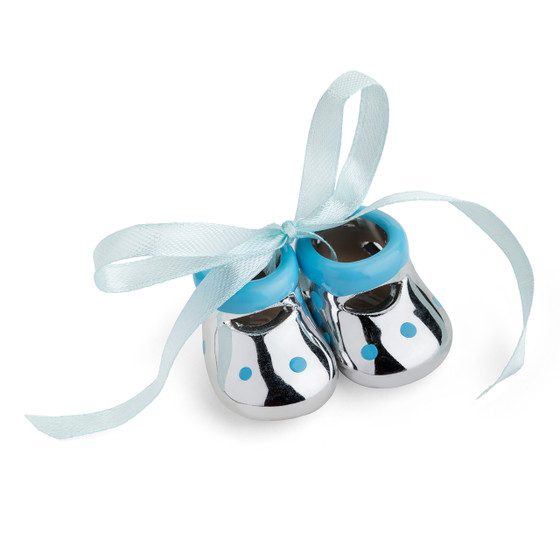 Baby Miniature Booties Favor Blue
