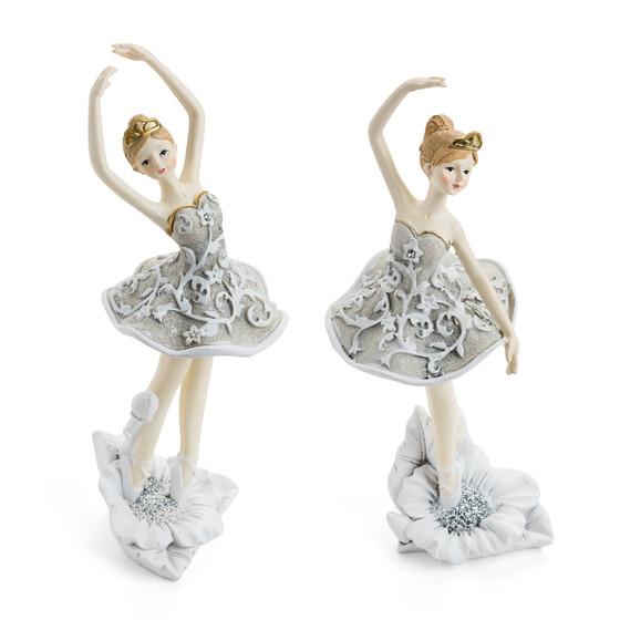 Dancing Ballerina Figurines/Set of  2