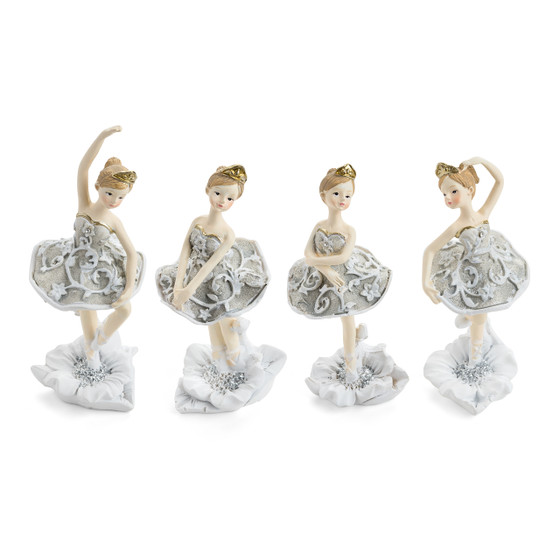 Dancing Ballerina Figurines/Set of 4
