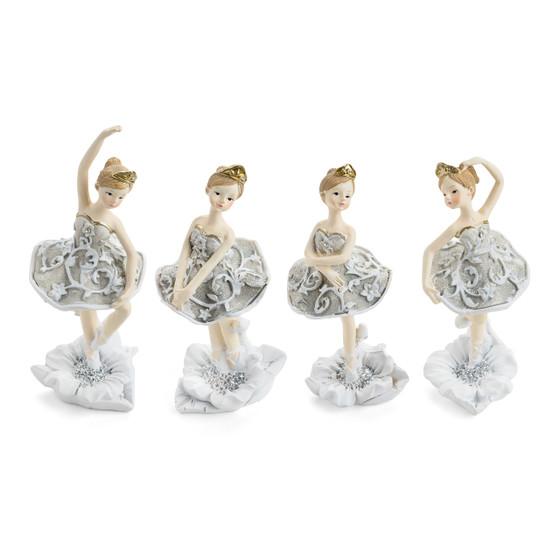 Dancing Ballerina Figurines/Set of 4