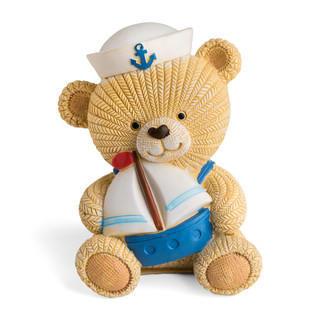 Little Teddy Bear Sailor Coin Bank
