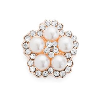 Pearl Embellishment w. Rhinestone