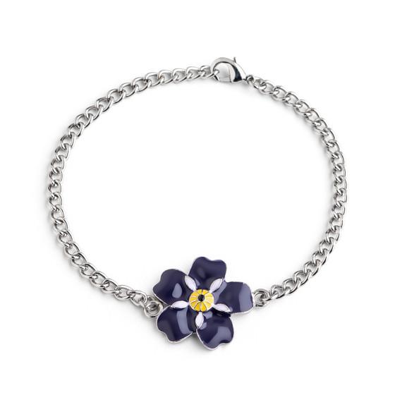 "Armenian Pride ""Forget Me Not ""Flower Bracelet"