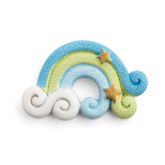Baby Shower Rainbow Magnet Blue/Set of 12 PCs
