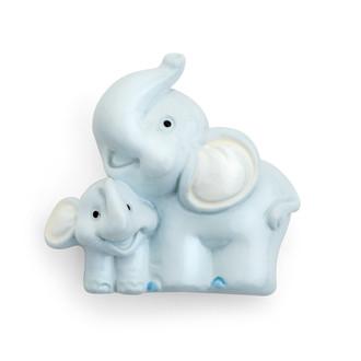 Resin Magnet Elephant Embellishment/12 Pc-Blue