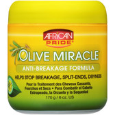 African Pride Olive Miracle Anti Breakage Cream 170g