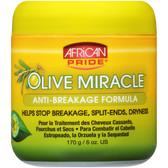 African Pride Olive Miracle Anti Breakage Cream 170g