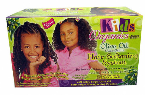 Organics Kids Olive Oil Hair Softening System Kit | The Glamour Shop