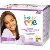 Just for Me No Lye Kids Relaxer Kit Regular