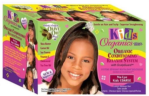 Africa S Best Kids Organics No Lye Relaxer Kit Coarse The Glamour Shop