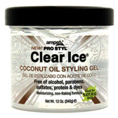 Ampro Clear Ice Coconut Oil Styling Gel 340g