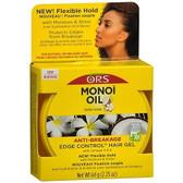 Organic Root Monoi Oil Tahitian Coconut Anti Breakage Edge Control Gel 64g
