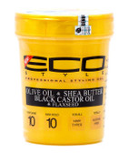 Eco Style Gold Olive Shea Butter Black Castor Oil Styling Gel 32oz