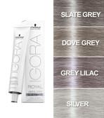 Schwarzkopf Igora Royal Silver White Hair Toner 60ml (Slate Grey)