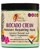 Alikay Naturals Avocado Cream Moisture Repairing Mask 8oz