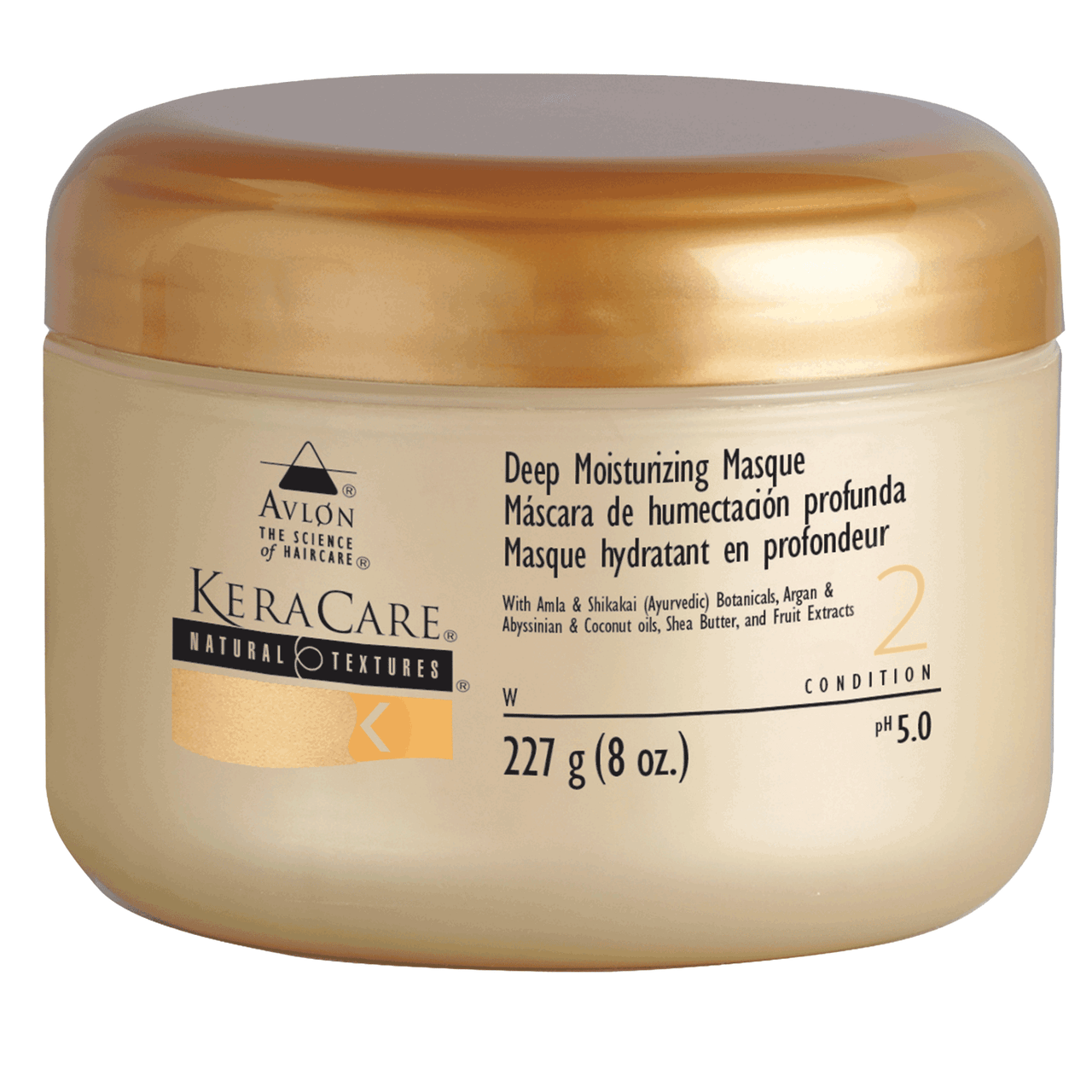 Keracare Natural Textures Deep Moisturizing Masque 8oz The Glamour Shop