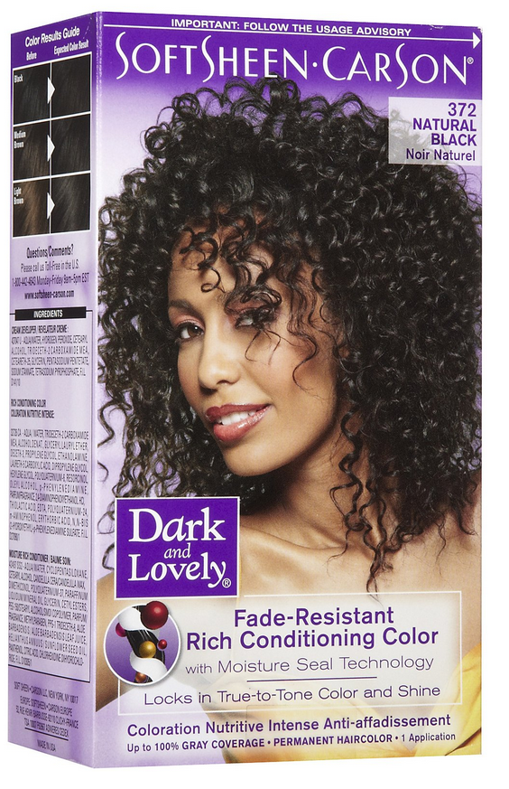 Dark And Lovely Hair Color Natural Black The Glamour Shop