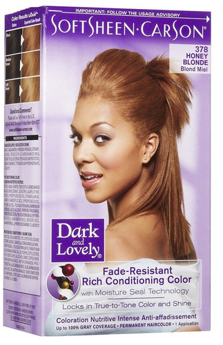 Dark And Lovely Hair Color Honey Blonde The Glamour Shop