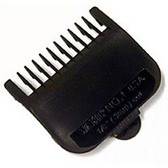 Wahl Clipper Black Plastic Comb Attachments / Grades