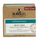 Dr. Miracles Hot Gro Hair & Scalp Treatment Regular 4oz