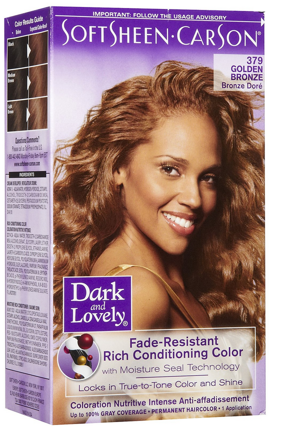 Dark And Lovelyhair Color Golden Bronze The Glamour Shop