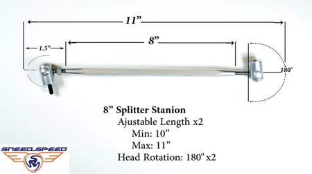 Splitter Support Rod Stanchion