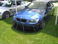 sneed4speed stanchions and splitter on e92 bmw m3