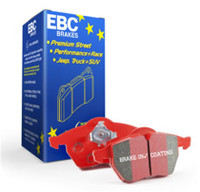 EBC 07-14 Mini Hardtop 1.6 Redstuff Rear Brake Pads