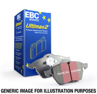 EBC 07-14 Mini Hardtop 1.6 Turbo Cooper S Ultimax2 Front Brake Pads