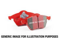 EBC 14+ Mini Hardtop 1.5 Turbo Cooper Redstuff Rear Brake Pads
