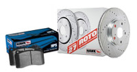 Hawk Performance 2007 Mini Cooper Sector 27 Rotors w/ HPS Brake Pads - Kit