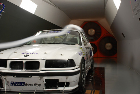 E36 M3 in the wind tunnel