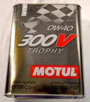 MOTUL 0W40 300V trophy racing motor oil
