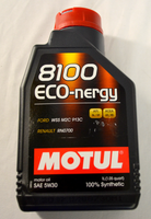 MOTUL 5w30 8100 eco-nergy synthetic engine oil