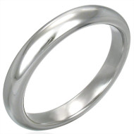 Classic 3.5mm Tungsten Carbide Wedding Band