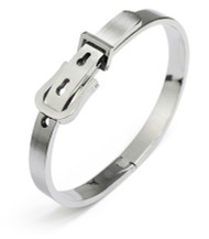 Tungsten Belt Buckle Bracelet